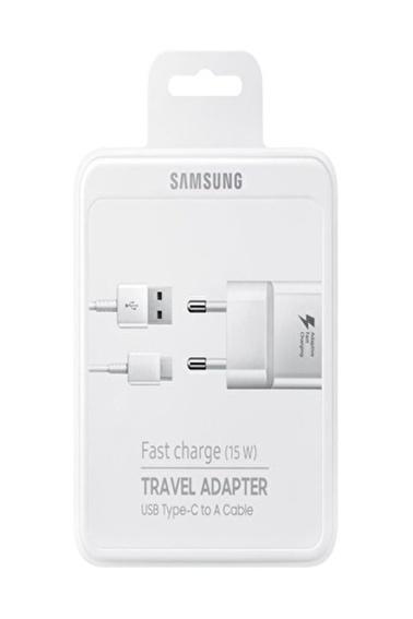 Samsung Samsung Galaxy Ta20 Type-C Hızlı Seyahat Şarjı Beyaz ( Orijinal Samsung Türkiye Ürünü ) Renkli